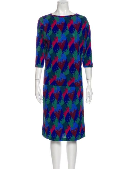 Missoni Wool Printed Skirt Set Wool