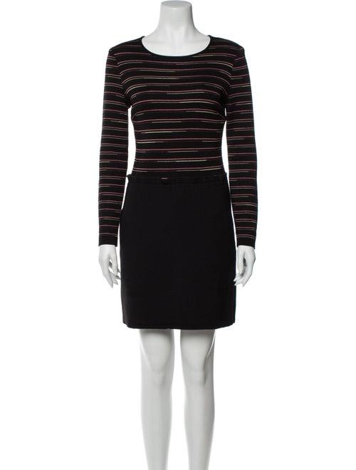 Missoni Fleece Wool Mini Dress Wool