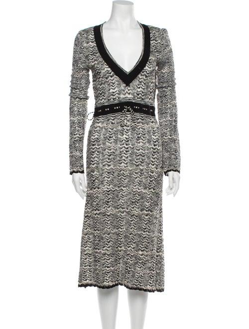 Missoni Wool Midi Length Dress Wool