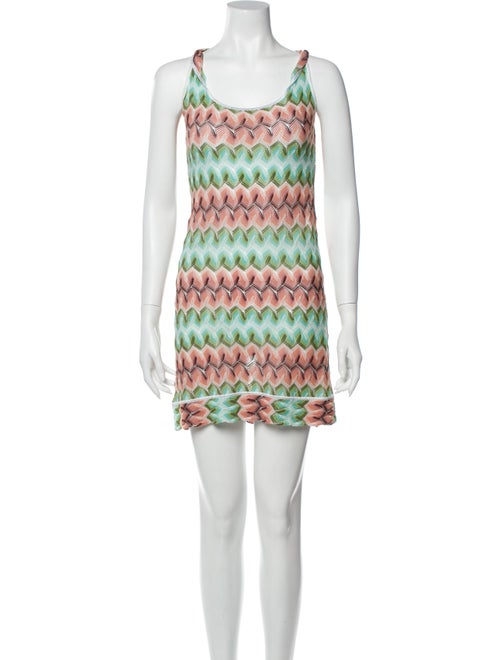 Missoni Striped Cover-Up Green