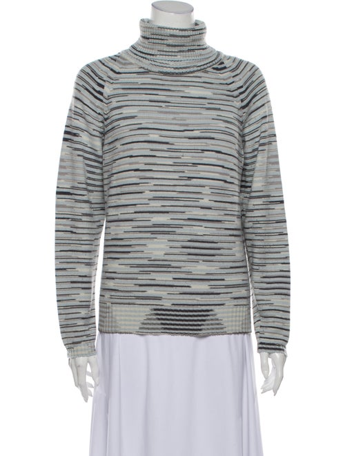 Missoni Virgin Wool Striped Sweater Wool