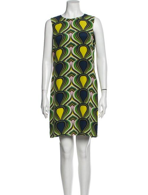 Missoni Silk Mini Dress Green