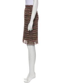 Missoni Striped Knee-Length Skirt