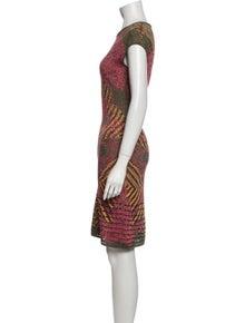 Missoni Printed Knee-Length Dress