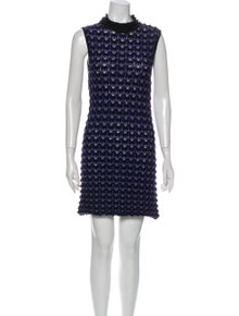 Missoni Mock Neck Mini Dress