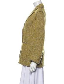 Missoni Virgin Wool Tweed Pattern Blazer