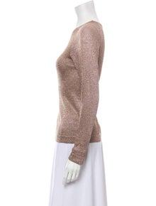 Missoni Bateau Neckline Long Sleeve Sweatshirt