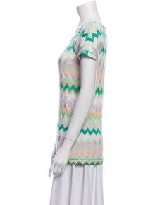 Missoni Linen Striped Top