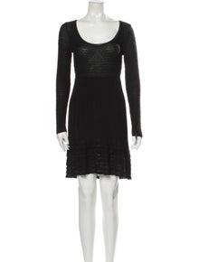 Missoni Scoop Neck Mini Dress