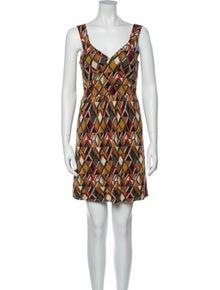 Missoni Printed Mini Dress