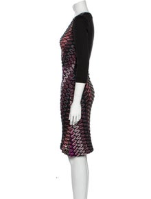 Missoni Wool Knee-Length Dress