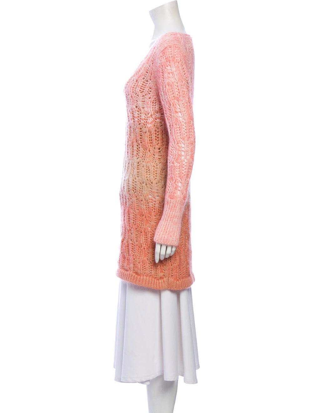Missoni Cashmere Tie-Dye Print Sweater Pink - image 2