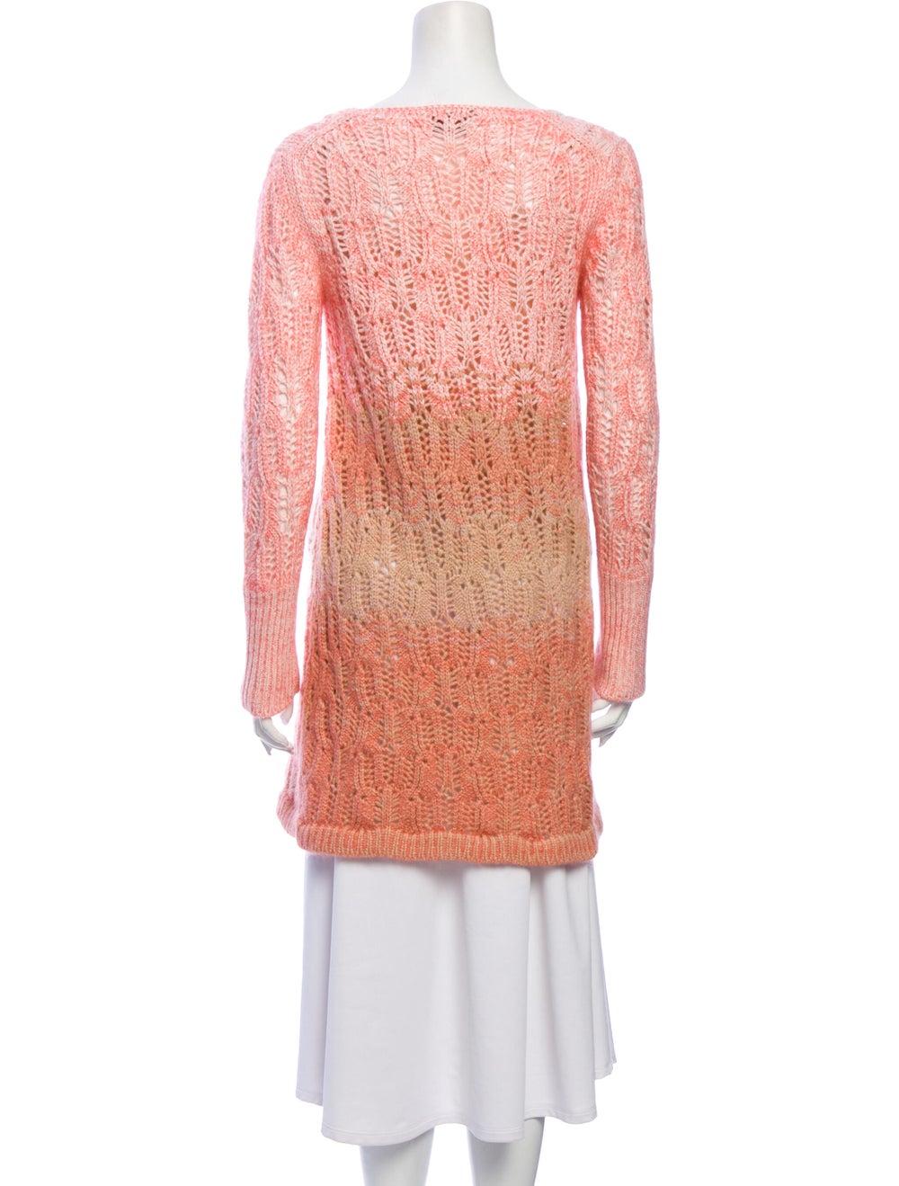 Missoni Cashmere Tie-Dye Print Sweater Pink - image 3