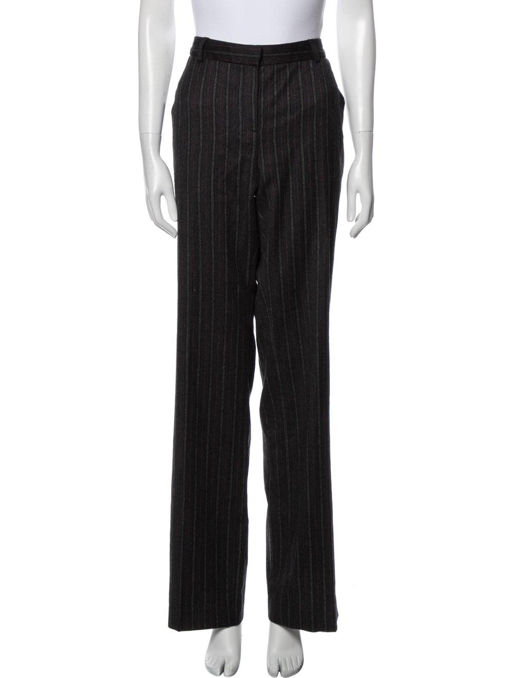 Missoni Striped Wide Leg Pants Black - image 1