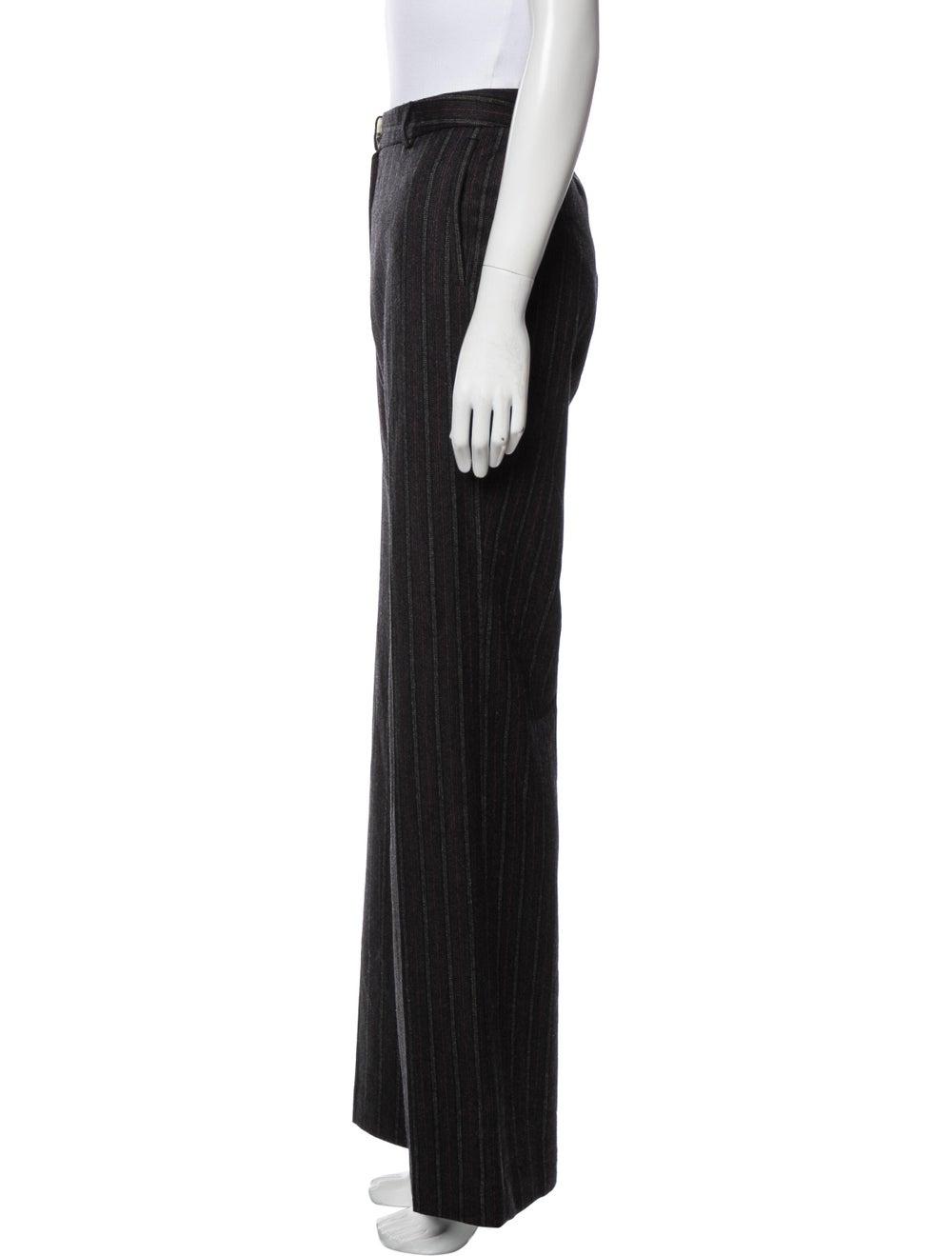 Missoni Striped Wide Leg Pants Black - image 2