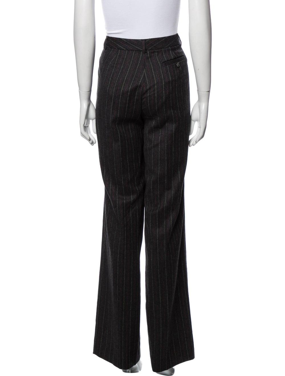 Missoni Striped Wide Leg Pants Black - image 3