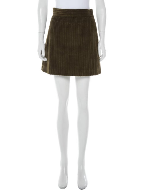 Miu Miu Mini Skirt Green