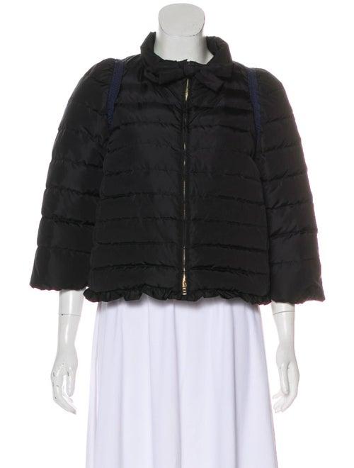 Miu Miu Quilted Down Jacket Black