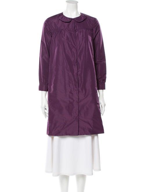 Miu Miu Trench Coat Purple
