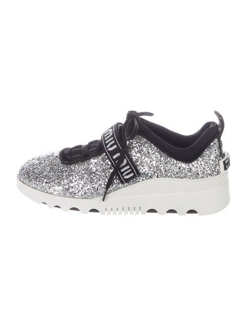 Miu Miu Chunky Sneakers Silver