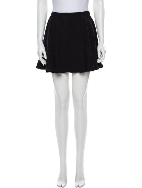 Miu Miu Mini Skirt Black