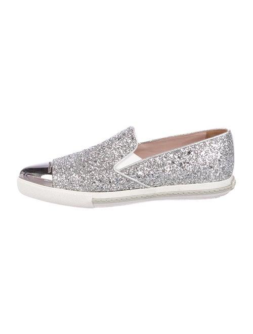Miu Miu Sneakers Silver