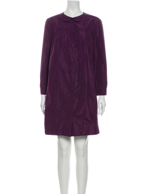 Miu Miu Coat Purple