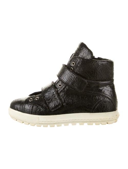 Miu Miu Wedge Sneakers Black