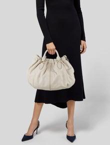 Miu Miu Leather Satchel Bag