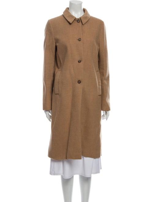 Miu Miu Virgin Wool Trench Coat Wool