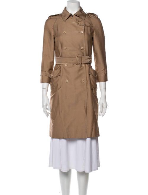 Miu Miu Trench Coat Brown
