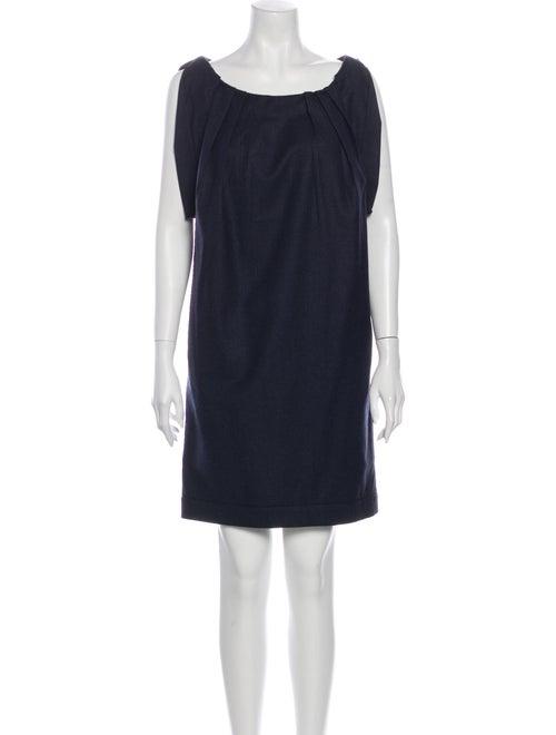 Miu Miu Wool Mini Dress Wool
