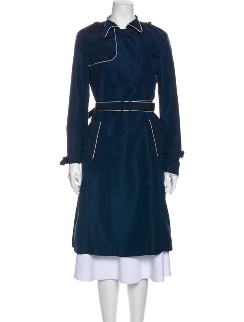 Miu Miu Trench Coat Blue