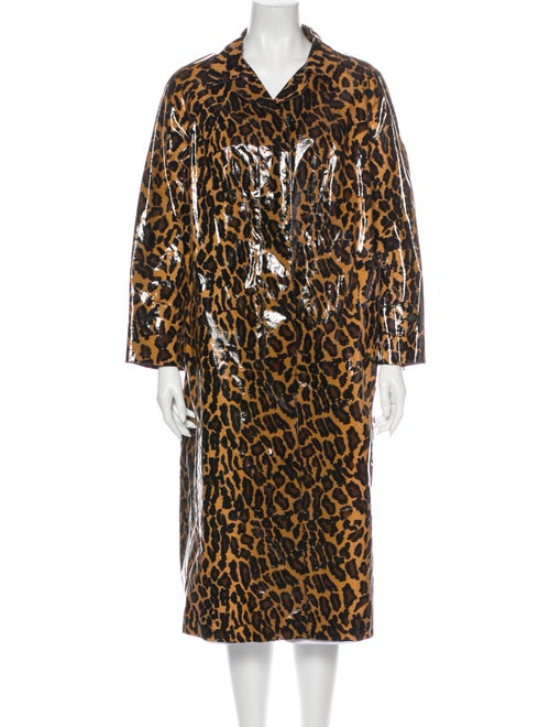 Miu Miu Animal Print Coat