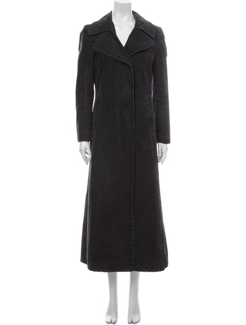 Miu Miu Trench Coat Black