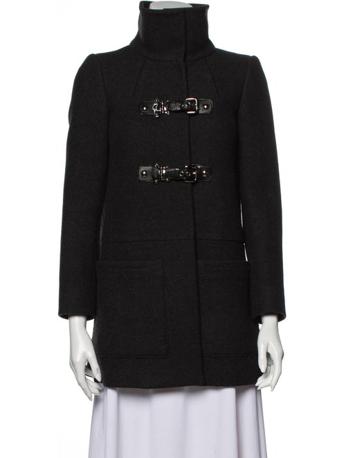Miu Miu Virgin Wool Coat Wool