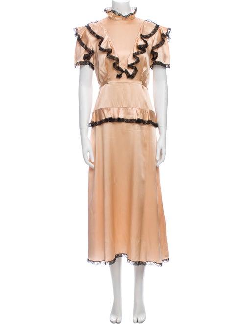 Miu Miu 2016 Long Dress
