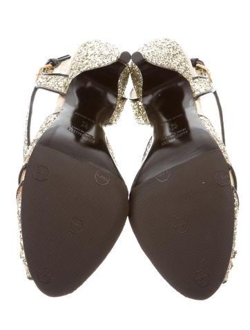 Glitter Embellished Sandals