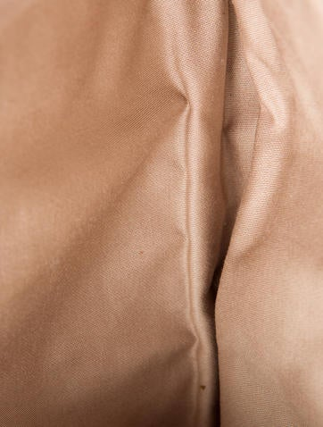Matelassé Leather Clutch