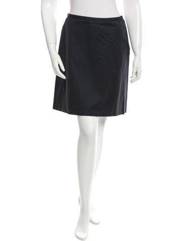 Miu Miu Twill Mini Skirt None