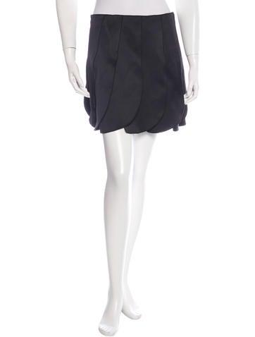 Miu Miu Mini Flared Skirt None