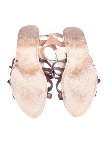 Multistrap Leather Sandles