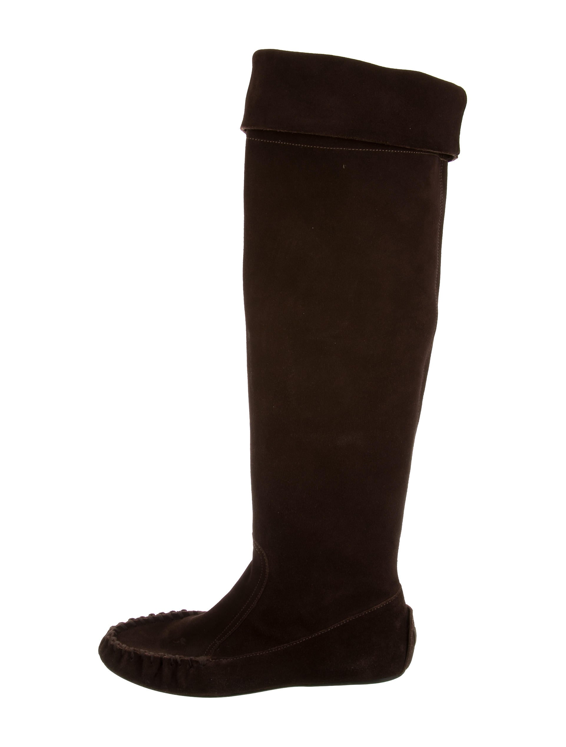 miu miu suede the knee boots shoes miu40115 the