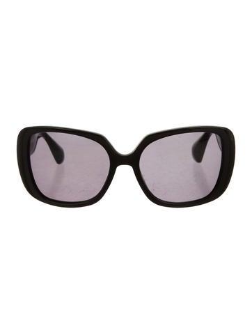 Miu Miu Tinted Square Sunglasses