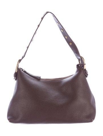 Miu Miu Pebbled Leather Hobo