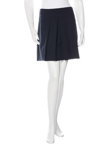Miu Miu A-Line Knee Length Skirt None