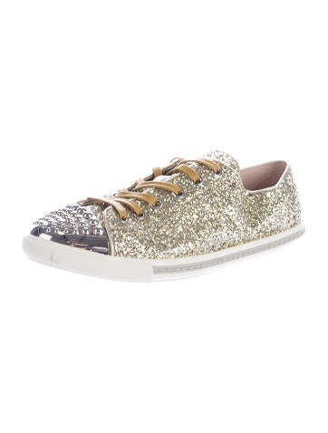 Studded Glitter Lux Sneakers