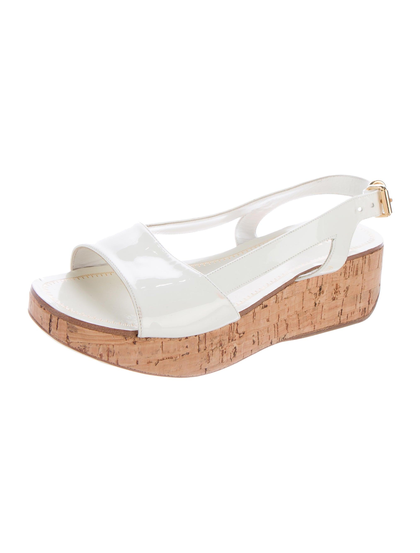 miu miu slingback platform sandals shoes miu42700