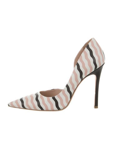 Leather d'Orsay Pumps