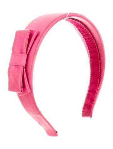 Satin Bow-Embellished Headband
